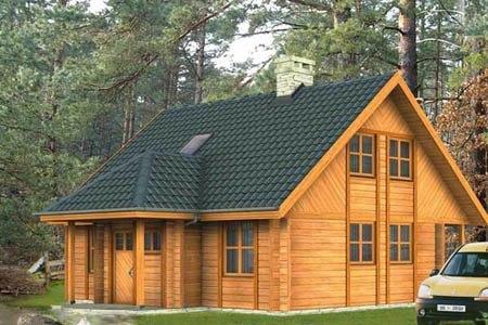 дома на основе деревянного каркаса г.Самара