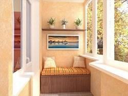 Внутренняя отделка балконов и лоджий в Самаре